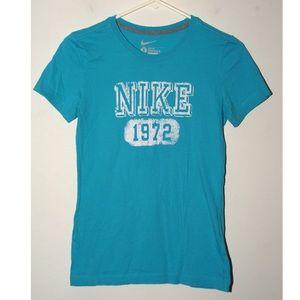 Nike 1972 aqua blue tee
